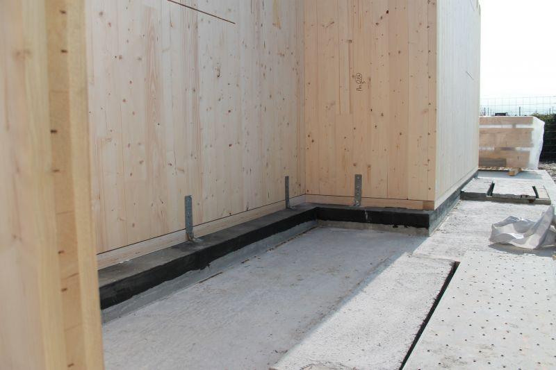 X lam modalit e tipologie di connessione progetto energia zero - Sistema di aerazione per casa ...